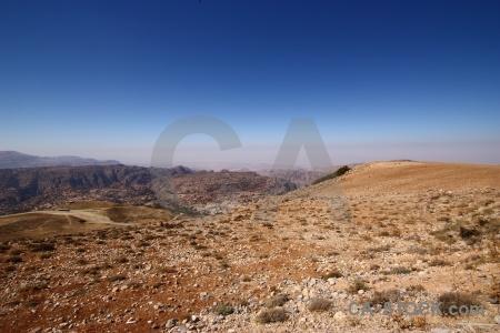 Jordan mountain sky asia landscape.