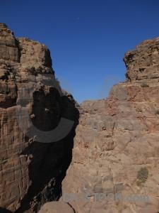 Jordan sky unesco nabataeans cliff.