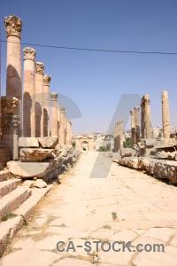 Jordan stone ancient block corinthium.
