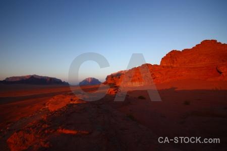 Jordan sunset asia western landscape.