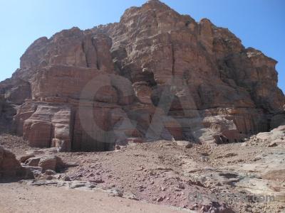 Jordan unesco cliff middle east nabataeans.
