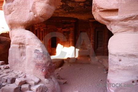 Jordan unesco western asia nabataeans petra.