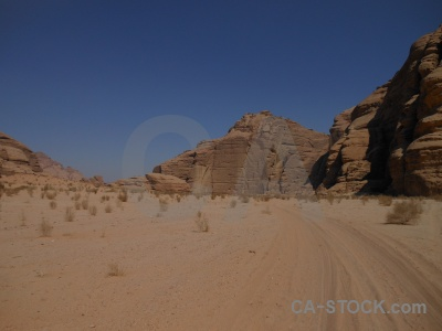 Jordan wadi rum western asia desert sand.