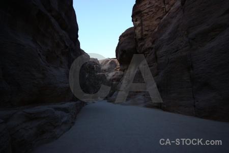 Jordan western asia canyon petra path.