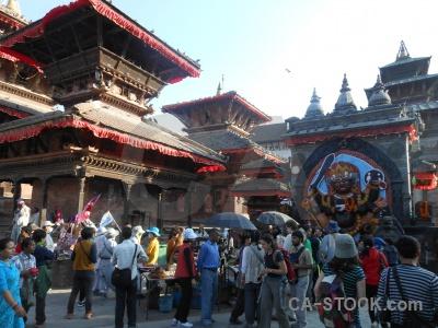 Kal bhairab pagoda nepal buddhist kathmandu.