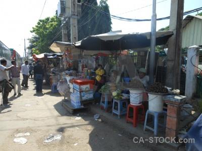 Kampong thom market sky southeast asia thum.
