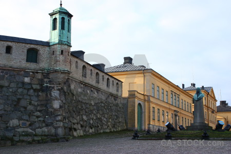 Karlskrona building sweden europe white.
