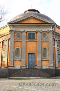 Karlskrona church building sweden europe.