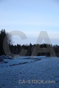 Karlskrona europe blue sweden frost.