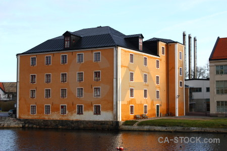 Karlskrona house building sweden europe.