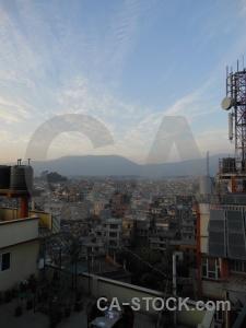 Kathmandu cloud building south asia mountain.