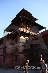 Kathmandu south asia buddhism sky hanuman dhoka.