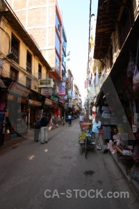 Kathmandu thamel nepal sign south asia.