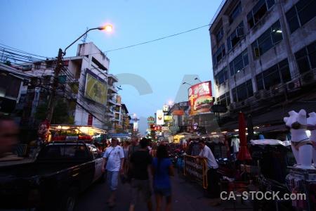 Khao san road khaosan bangkok building sky.