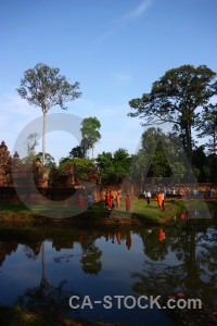 Khmer asia person water unesco.