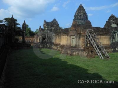 Khmer block angkor stone buddhism.