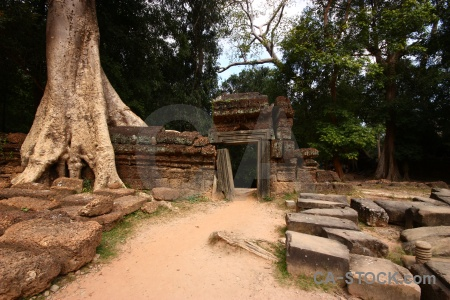 Khmer block tomb raider buddhism root.
