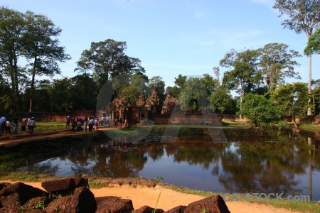 Khmer buddhist cambodia asia temple.