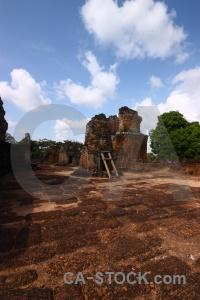 Khmer eastern mebon ruin siem reap cambodia.