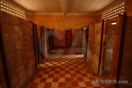 Khmer rouge cell s 21 cambodia prison.