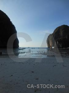 Ko phi leh bay the island southeast asia thailand.