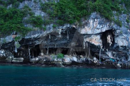 Ko phi leh island cliff sea ko ley.
