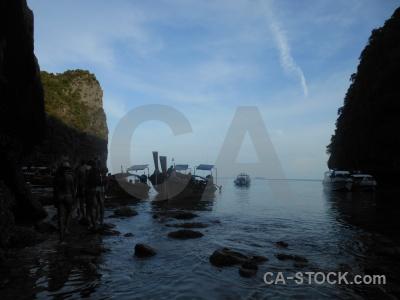 Ko phi leh rock loh samah southeast asia cliff.