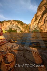 Ko phi ley sky island cliff water.