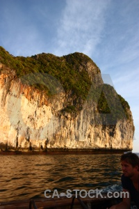 Ko phi ley tropical cliff island sky.