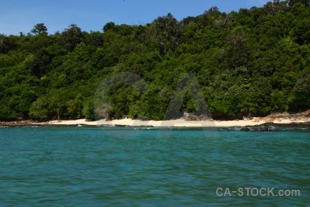 Koh mai phai bamboo island sea southeast asia ko.