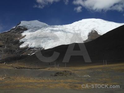 Kora la tibet altitude arid snow.