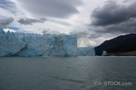 Lago argentino argentina lake glacier sky.