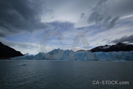 Lago argentino argentina mountain lake glacier.