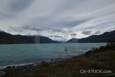 Lago argentino cloud patagonia south america lake.