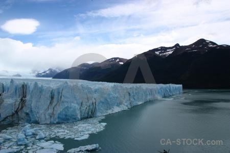 Lago argentino glacier argentina terminus south america.