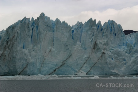Lago argentino glacier south america ice lake.