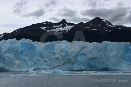 Lago argentino patagonia south america glacier terminus.
