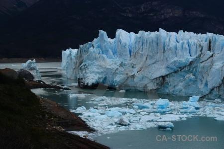 Lago argentino perito moreno argentina ice patagonia.