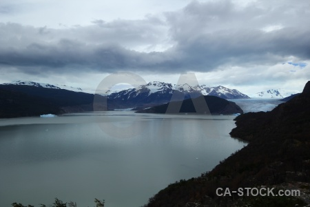 Lago grey glacier mountain ice torres del paine.