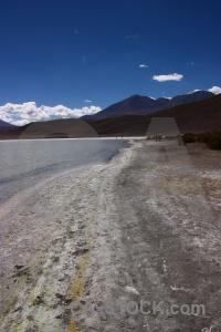 Laguna honda water andes bolivia mountain.