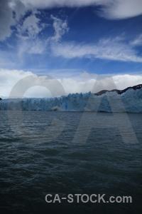 Lake argentino argentina lake cloud glacier.