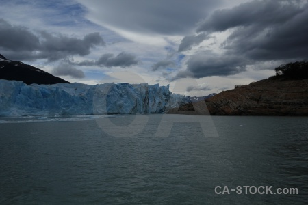 Lake argentino ice argentina cloud terminus.