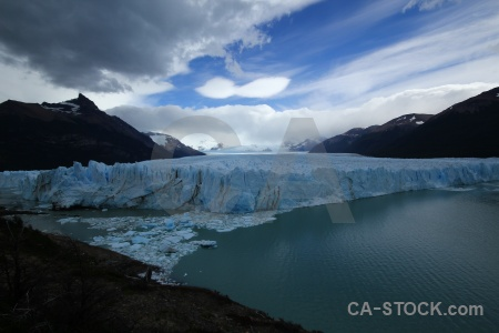 Lake argentino patagonia ice argentina cloud.
