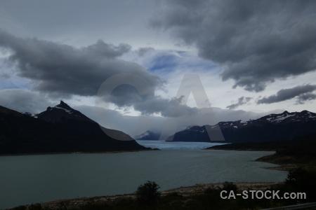 Lake argentino patagonia sky water perito moreno.