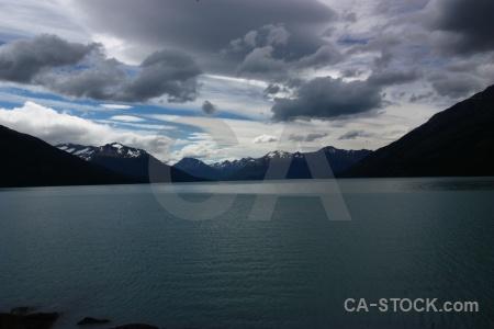 Lake argentino sky cloud south america lake.