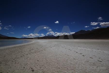 Lake bolivia landscape altitude andes.