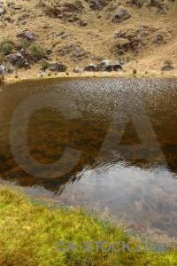 Lake inca rock altitude cochapata.