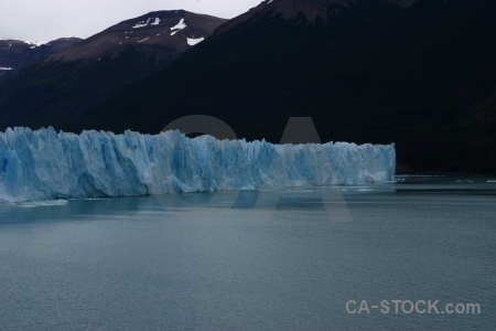 Lake lake argentino sky glacier south america.