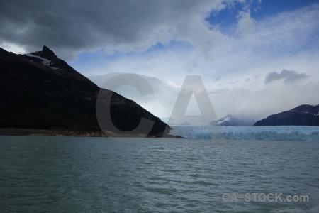 Lake mountain perito moreno argentina patagonia.