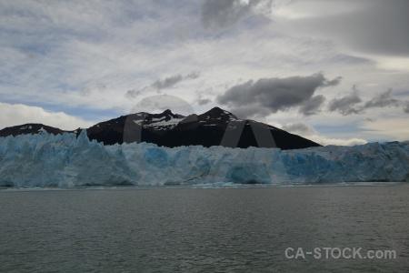 Lake patagonia glacier mountain lago argentino.